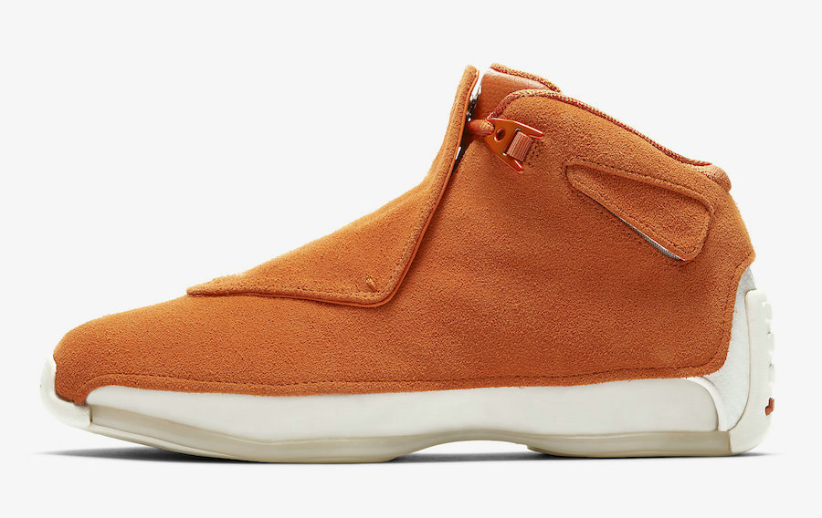 Where To Buy Cheap Wholesale Nike Air Jordan 18 Campfire Orange Feu DE Camp AA2494-801 - www.wholesaleflyknit.com