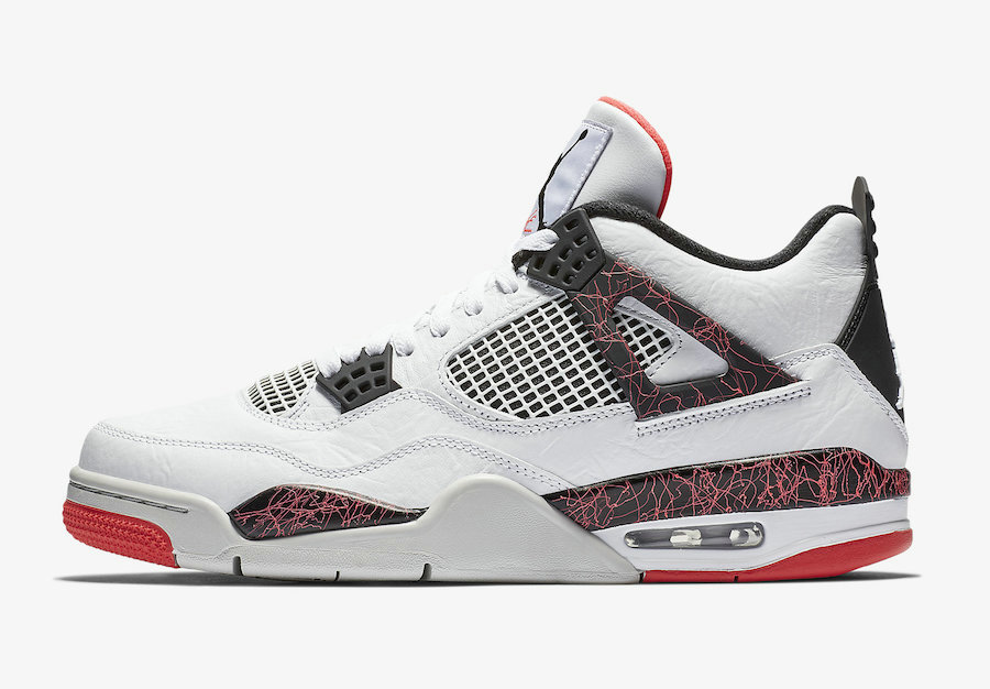 Where To Buy Cheap Wholesale Nike Air Jordan 4 Flight Nostalgia White Black-Bright Crimson-Pale Citron 308497-116 - www.wholesaleflyknit.com