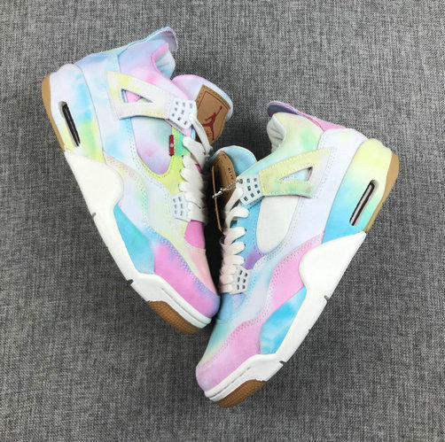 Where To Buy Cheap Wholesale Nike Air Jordan 4 Retor NRG Levis Multi-Color AO2571-102 - www.wholesaleflyknit.com