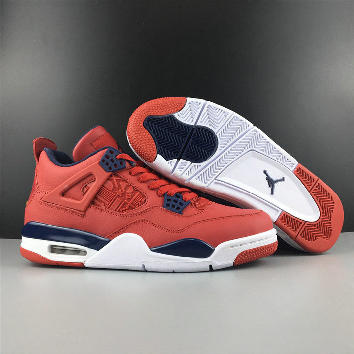 Where To Buy Wholesale Cheap Nike Air Jordan 4 SE FIBA Gym Red White-Metallic Gold-Obsidian CI1184-617 - www.wholesaleflyknit.com