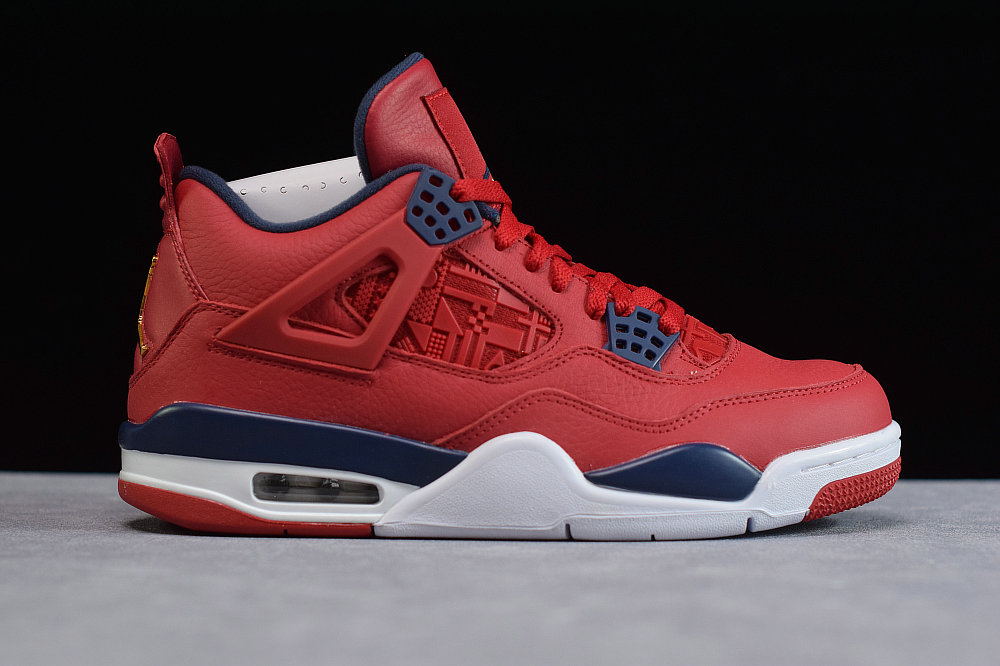 Where To Buy Cheap Wholesale Nike Air Jordan 4 University Red Royal Blue White Gold - www.wholesaleflyknit.com