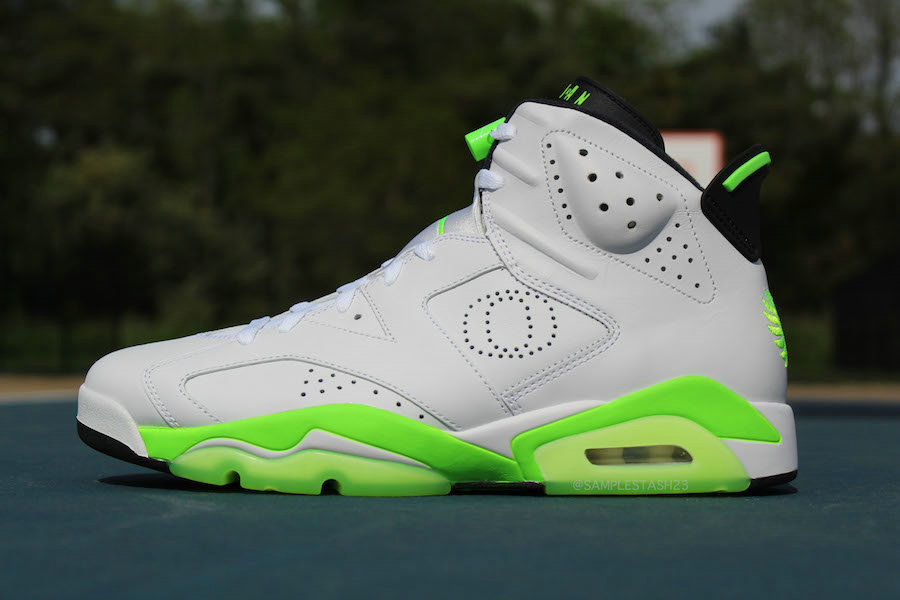 Where To Buy Cheap Wholesale Nike Air Jordan 6 Oregon Ducks PE White Fluorescent Green - www.wholesaleflyknit.com