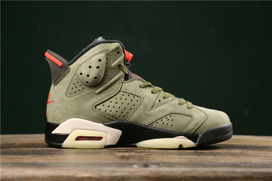 Where To Buy Cheap Wholesale Nike Air Jordan 6 Retro CN1084-200 Green Infrared Black Vert Infrarouge Noir - www.wholesaleflyknit.com
