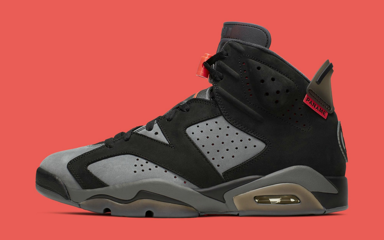 Where To Buy Cheap Wholesale Nike Air Jordan 6 Retro PSG Iron Grey Infrared 23-Black CI4072-001 - www.wholesaleflyknit.com