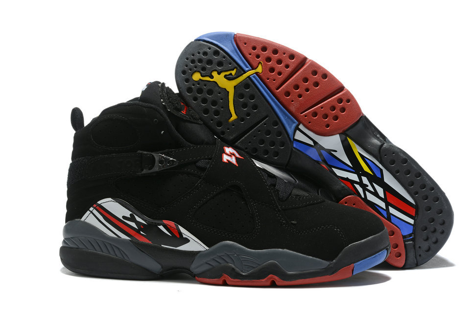 Where To Buy Cheap Wholesale Nike Air Jordan 8 Black Red 305381-061 - www.wholesaleflyknit.com