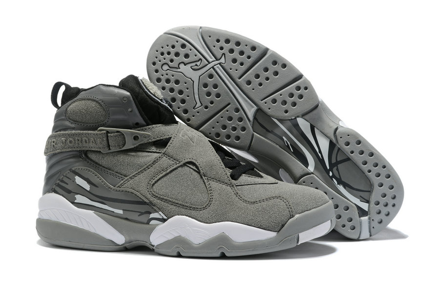 Where To Buy Cheap Wholesale Nike Air Jordan 8 Retro Wolf Grey Cool Grey 305381-014 - www.wholesaleflyknit.com