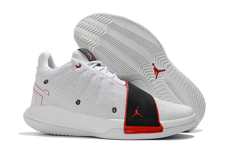 Where To Buy Wholesale Cheap Nike Air Jordan CP3 XI Home White University Red Black AA1272-101 - www.wholesaleflyknit.com