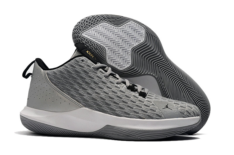 Where To Buy Wholesale Cheap Nike Air Jordan CP3.XII Cool Grey White Black - www.wholesaleflyknit.com