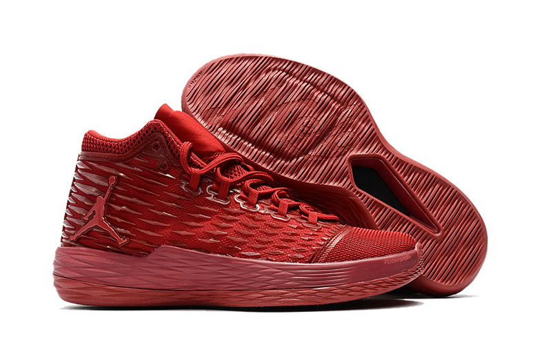 Where To Buy Wholesale Cheap Nike Air Jordan Melo M13 All-Red 881562-618 - www.wholesaleflyknit.com