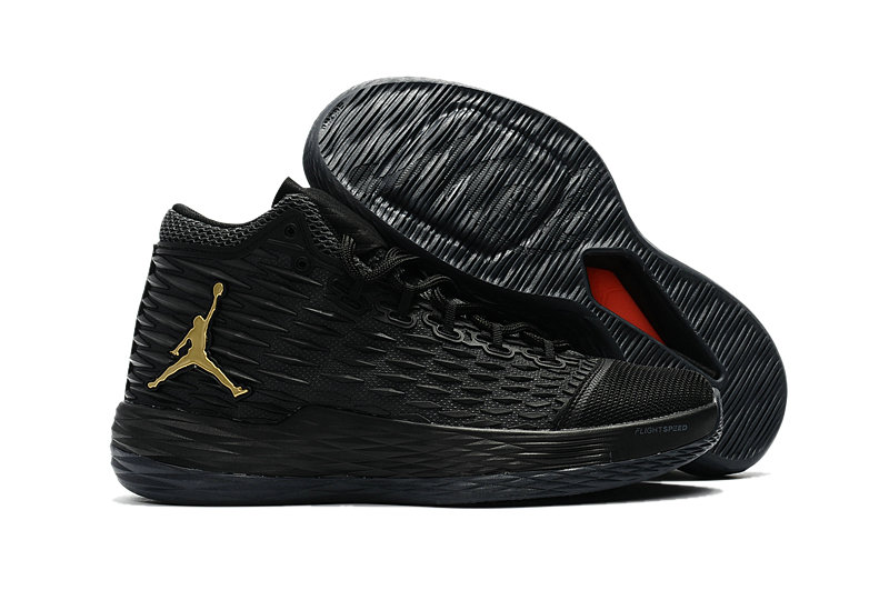 Where To Buy Wholesale Cheap Nike Air Jordan Melo M13 Black Metallic Gold-Anthracite 881562-004 - www.wholesaleflyknit.com