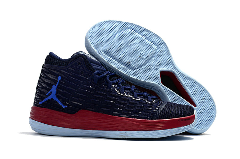 Where To Buy Wholesale Cheap Nike Air Jordan Melo M13 Knicks Midnight Navy Gym Red-Blue - www.wholesaleflyknit.com