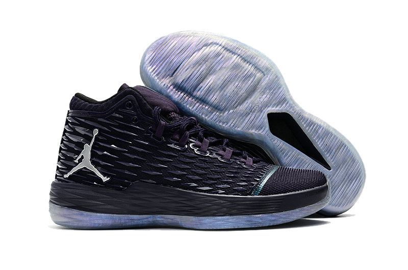 Where To Buy Wholesale Cheap Nike Air Jordan Melo M13 Purple Dynasty Metallic Silver - www.wholesaleflyknit.com