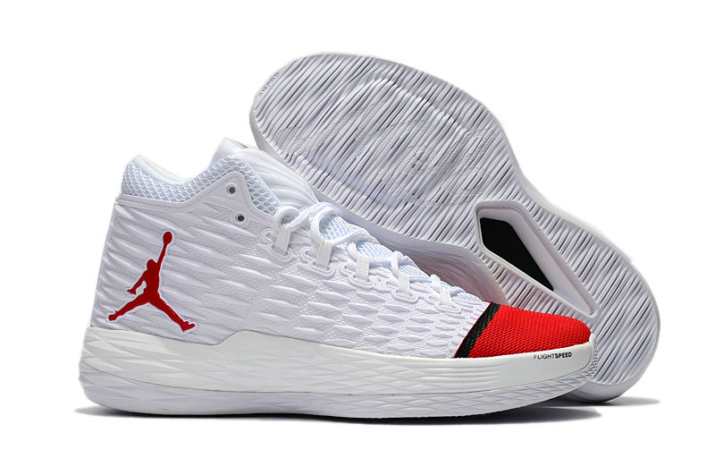 Where To Buy Wholesale Cheap Nike Air Jordan Melo M13 White Red-Black - www.wholesaleflyknit.com