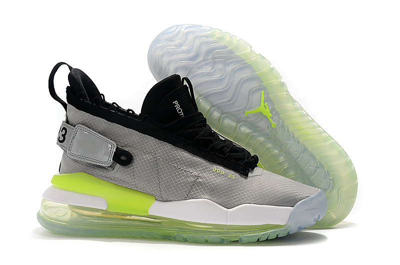 Where To Buy Cheap Wholesale Nike Air Jordan Proto Max 720 Cool Grey Black Green - www.wholesaleflyknit.com