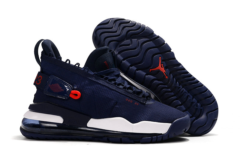 Where To Buy Cheap Wholesale Nike Air Jordan Proto Max 720 Navy Blue Red White - www.wholesaleflyknit.com