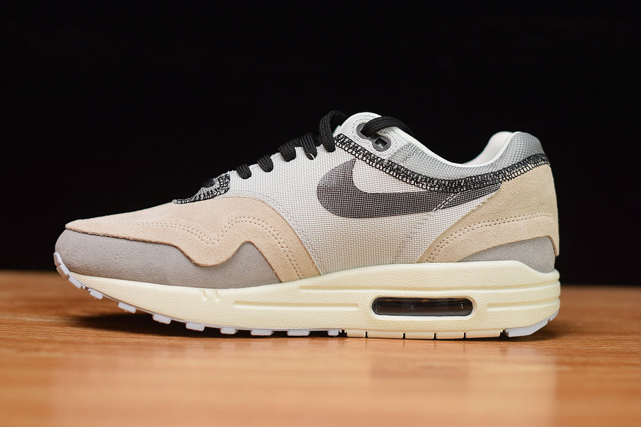 Where To Buy Cheap Wholesale Nike Air Max 1 Phantom Black-Pure Platinum-Wolf Grey-Sail 858876-013 - www.wholesaleflyknit.com
