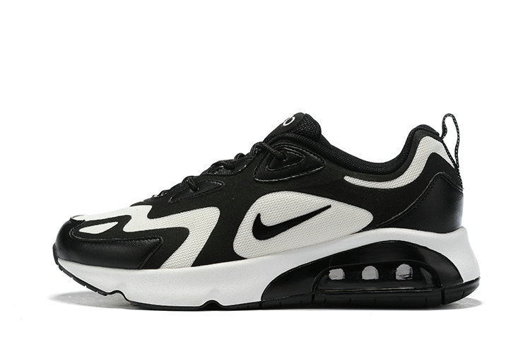 Where To Buy Wholesale Cheap Nike Air Max 200 Black White - www.wholesaleflyknit.com