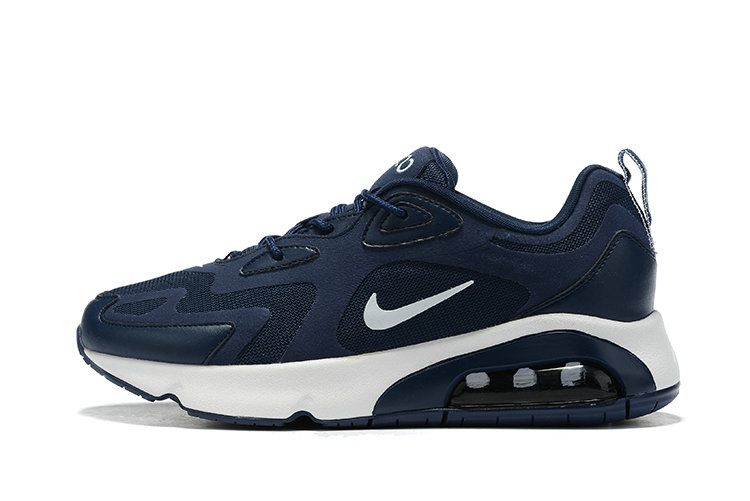 Where To Buy Wholesale Cheap Nike Air Max 200 Navy Blue White - www.wholesaleflyknit.com