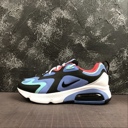 Where To Buy Cheap Wholesale Nike Air Max 200 Royal Pulse Oil Grey Pulsation Gris Petrole AQ2568-401 - www.wholesaleflyknit.com