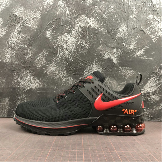 Where To Buy Cheap Wholesale Nike Air Max 2019 Black Red 524977-503 - www.wholesaleflyknit.com