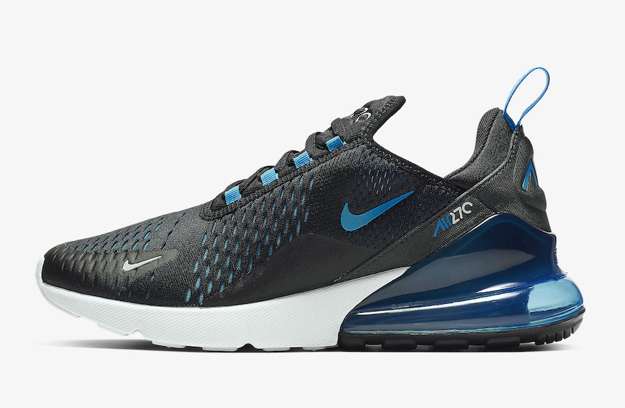 Where To Buy Cheap Wholesale Nike Air Max 270 Black Photo Blue-Blue Fury-Pure Platinum-Anthracite-White AH8050-019 - www.wholesaleflyknit.com