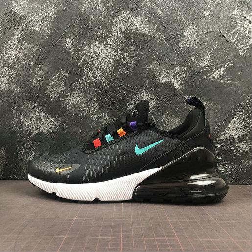 Where To Buy Cheap Wholesale Nike Air Max 270 Black Seven Revising Noir CN7077-005 - www.wholesaleflyknit.com