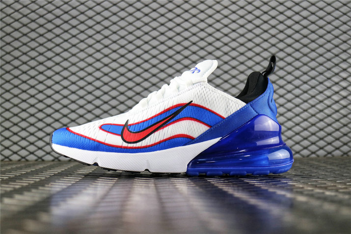 Where To Buy Wholesale Cheap Nike Air Max 270 Fifa World Cup Russia 2018 White Racer Blue Bright Crmsn AQ7982 400 - www.wholesaleflyknit.com