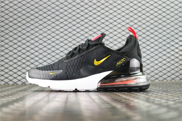 Where To Buy Wholesale Cheap Nike Air Max 270 Flyknit FIFA World Cup Russia 2018 French Black Gold AH8050-117 - www.wholesaleflyknit.com