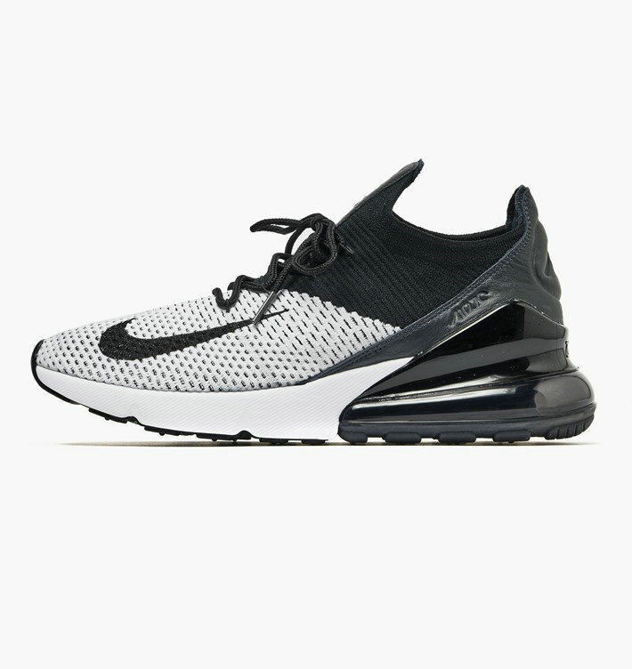 Where To Buy Wholesale Cheap Nike Air Max 270 Flyknit Fried Food Knit White Black Anthracite AO1023-100 - www.wholesaleflyknit.com