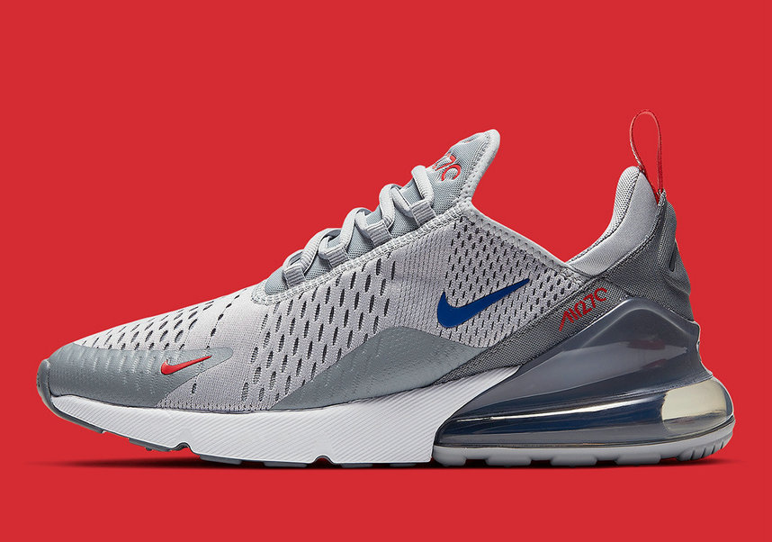 Where To Buy Cheap Wholesale Nike Air Max 270 Wolf Grey Game Royal-Cool Grey-University Red CD7338-001 - www.wholesaleflyknit.com