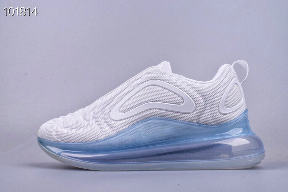 Where To Buy Cheap Wholesale Nike Air Max 720 Pure Platinum Oxygen Purple AR9293-009 - www.wholesaleflyknit.com