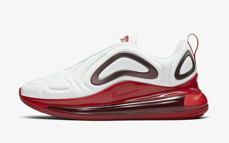 Where To Buy Cheap Wholesale Nike Air Max 720 White Gym Red CD2047-100 - www.wholesaleflyknit.com