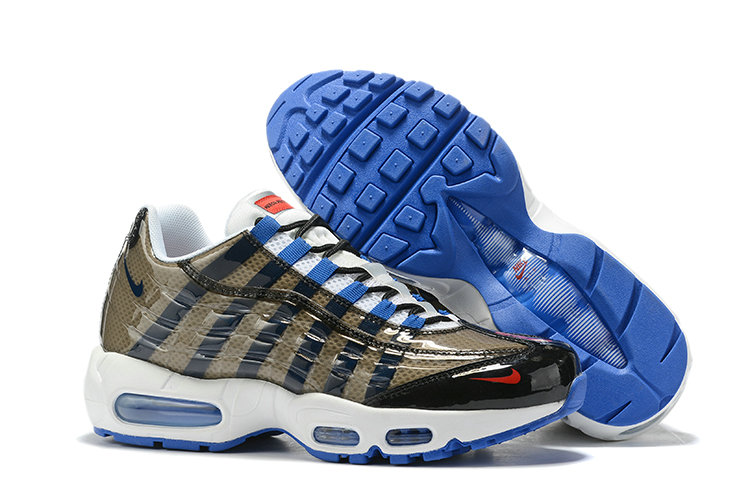 Where To Buy Cheap Wholesale Nike Air Max 95 By Christian Army Green Blue White Black - www.wholesaleflyknit.com