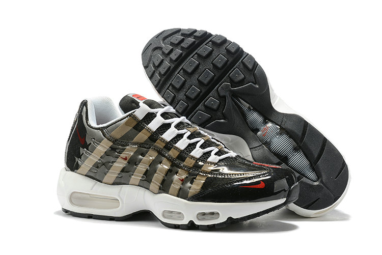 Where To Buy Cheap Wholesale Nike Air Max 95 By Christian Black Metallic Gold White - www.wholesaleflyknit.com