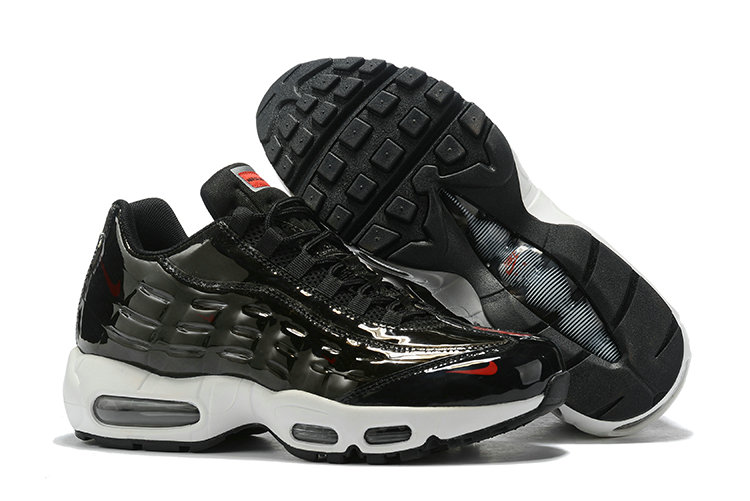 Where To Buy Cheap Wholesale Nike Air Max 95 By Christian Black White Red - www.wholesaleflyknit.com