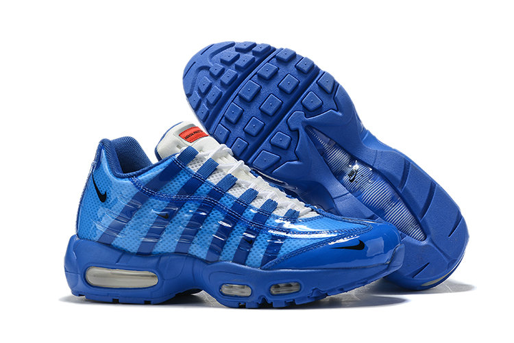 Where To Buy Cheap Wholesale Nike Air Max 95 By Christian Royal Blue White - www.wholesaleflyknit.com
