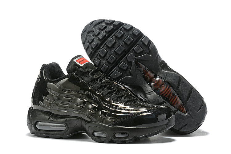 Where To Buy Cheap Wholesale Nike Air Max 95 By Christian Total Black - www.wholesaleflyknit.com