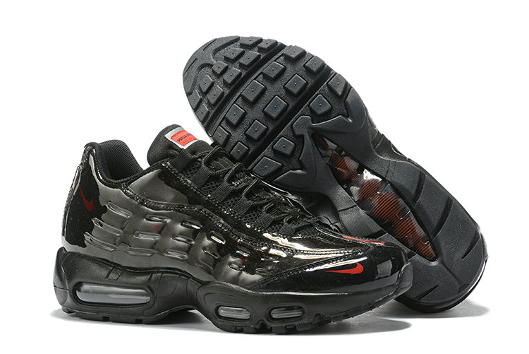 Where To Buy Cheap Wholesale Nike Air Max 95 By Christian Triple Black - www.wholesaleflyknit.com