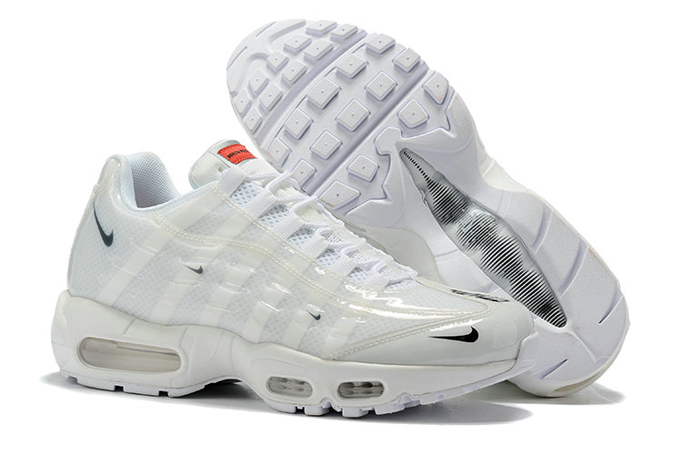 Where To Buy Cheap Wholesale Nike Air Max 95 By Christian Triple White - www.wholesaleflyknit.com