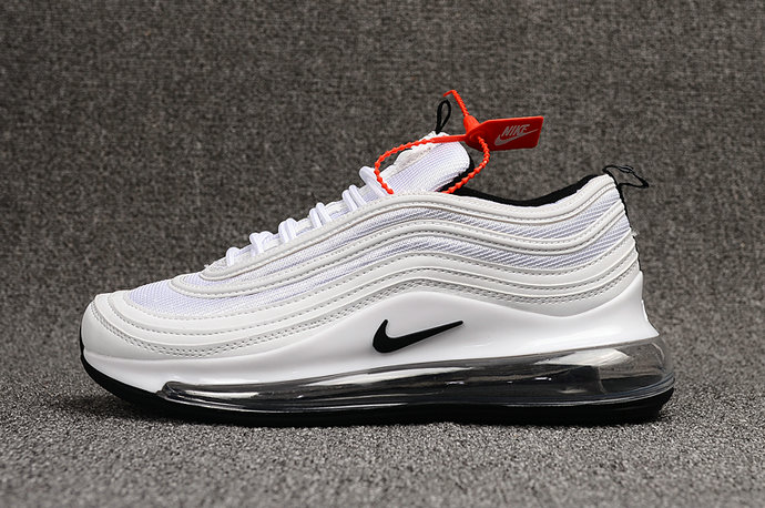 Where To Buy Wholesale Cheap Nike Air Max 97 720 White Black - www.wholesaleflyknit.com
