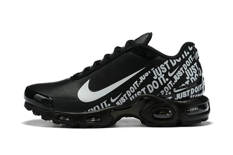 Where To Buy Wholesale Cheap Nike Air Max Plus Just Do It Black White Grey - www.wholesaleflyknit.com