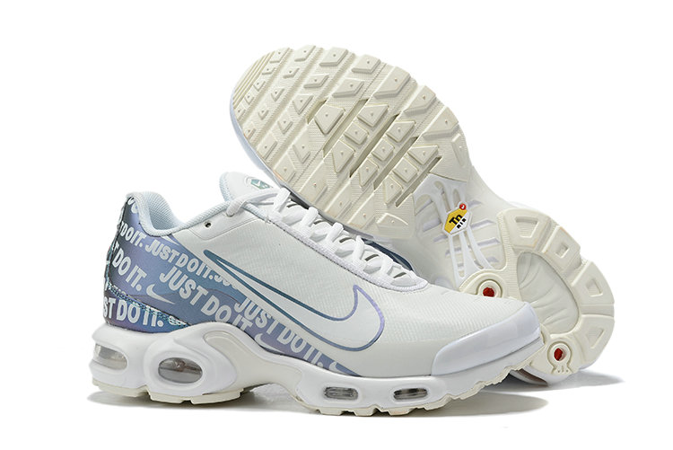 Where To Buy Wholesale Cheap Nike Air Max Plus Just Do It White Sky Blue - www.wholesaleflyknit.com