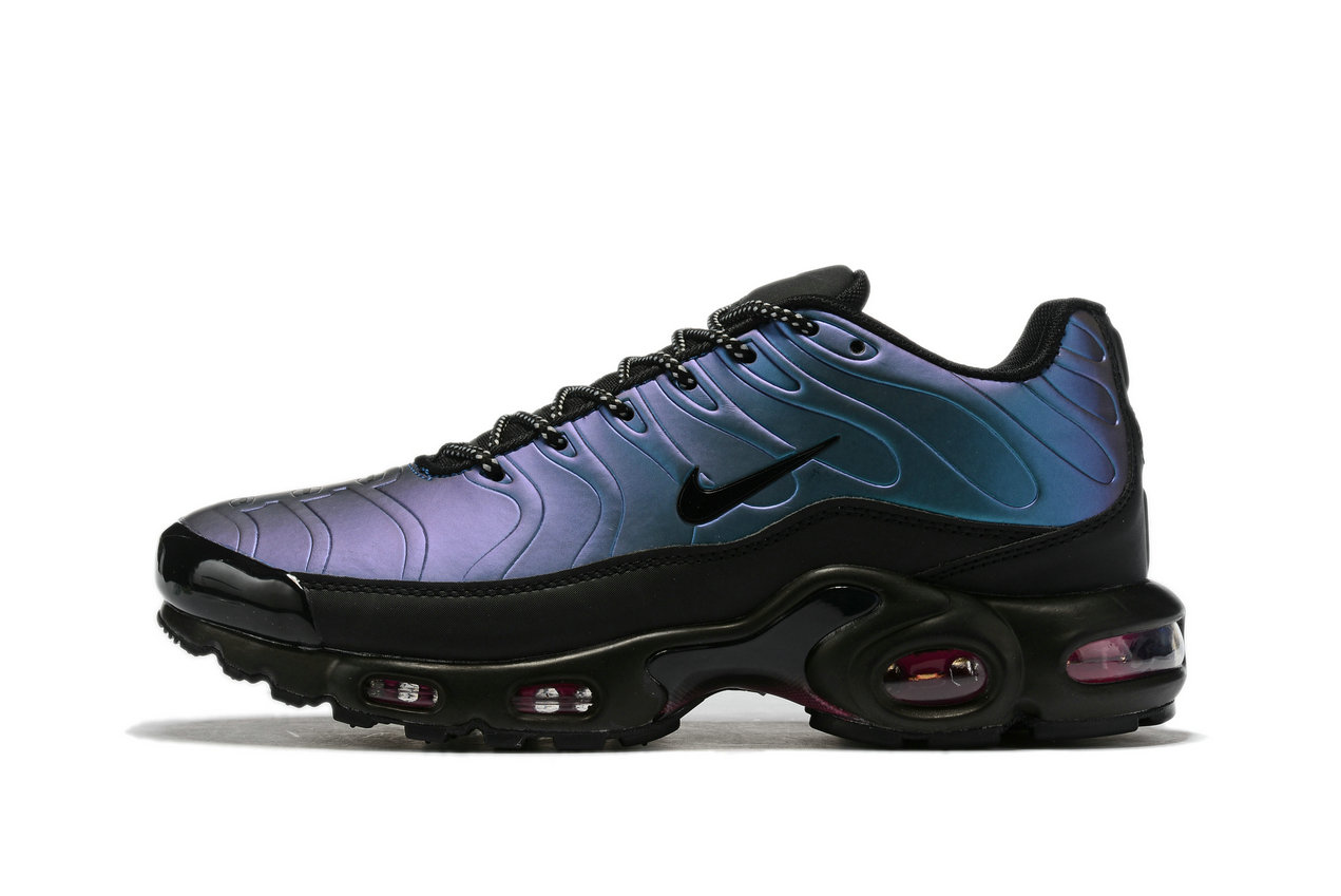 Where To Buy Wholesale Cheap Nike Air Max TN Plus Black Blue Purple - www.wholesaleflyknit.com