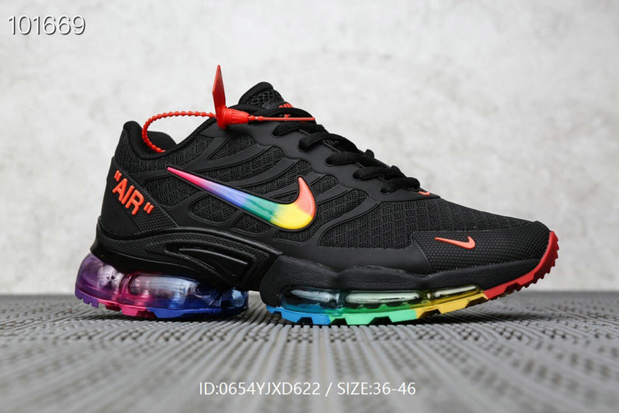 Where To Buy Wholesale Cheap Nike Air Max TN Plus x OFF-WHITE Black Colorful - www.wholesaleflyknit.com