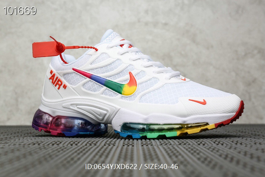 Where To Buy Wholesale Cheap Nike Air Max TN Plus x OFF-WHITE White Colorful - www.wholesaleflyknit.com