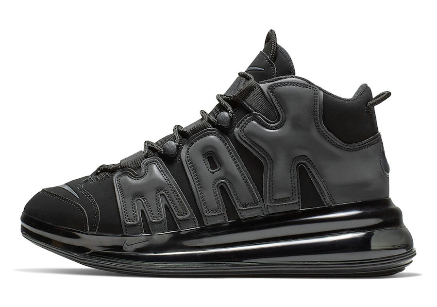 Where To Buy Cheap Wholesale Nike Air More Uptempo 720 Black BQ7668-001 - www.wholesaleflyknit.com