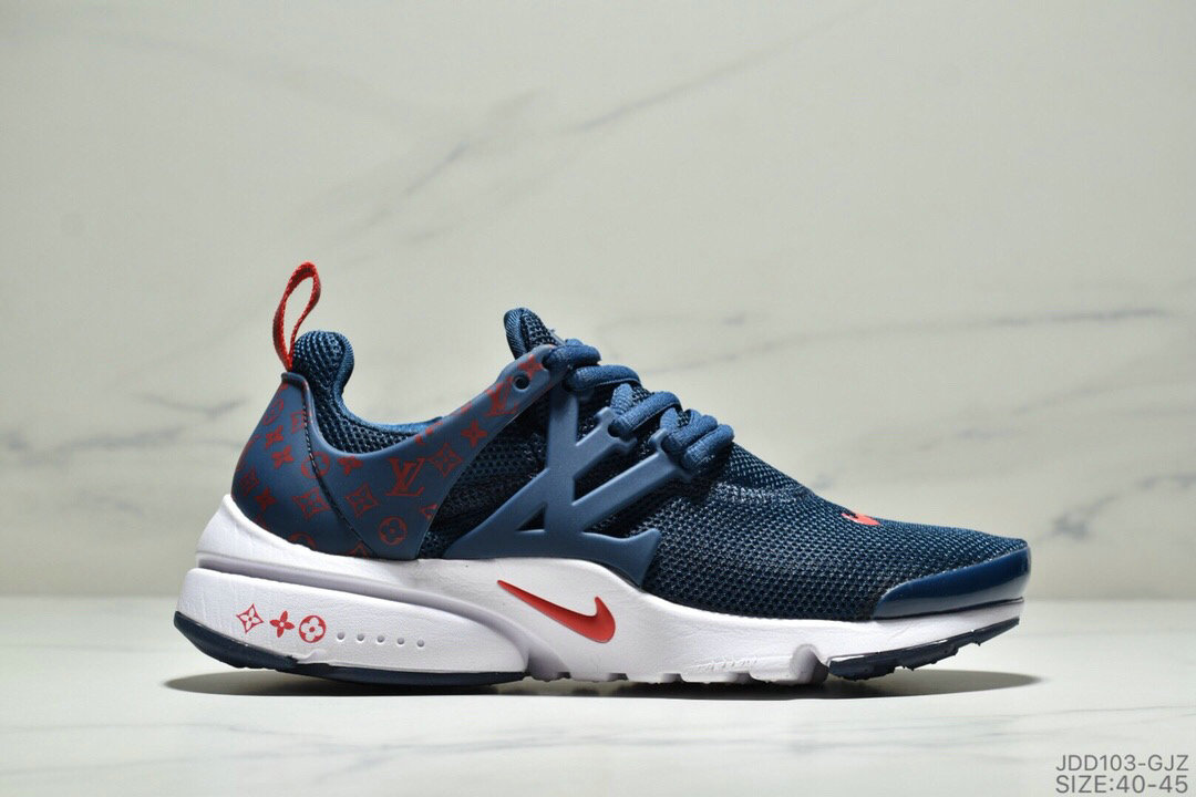 Where To Buy Cheap Wholesale Nike Air Presto Flyknit Ultra Navy Blue Gym Red - www.wholesaleflyknit.com