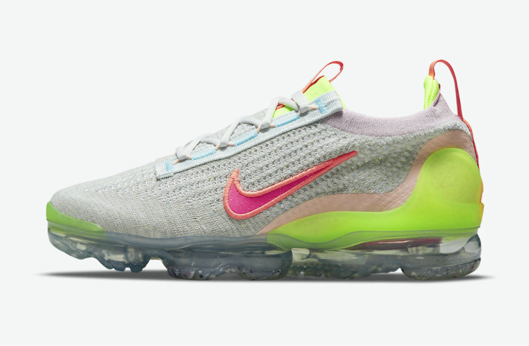 Where To Buy Cheap Wholesale Nike Air VaporMax 2021 Grey Volt DH4088-002 - www.wholesaleflyknit.com