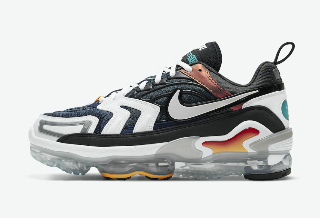 Where To Buy Cheap Wholesale Nike Air VaporMax EVO Evolution of Icons Anthracite Tech Grey-White-Midnight Navy CT2868-001 - www.wholesaleflyknit.com