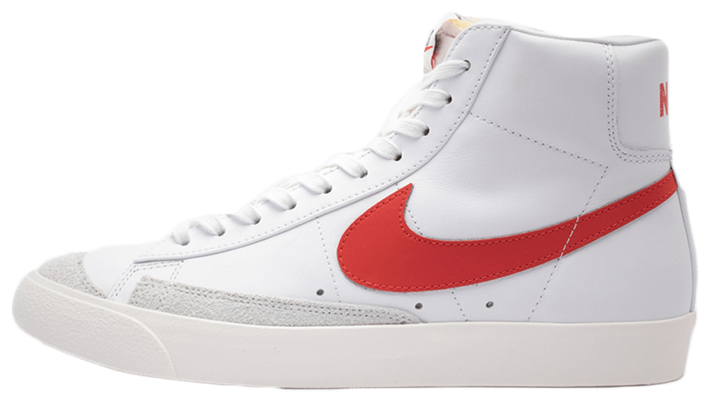 Where To Buy Cheap Wholesale Nike Blazer Mid 77 Vintage White Red BQ6806-600 - www.wholesaleflyknit.com